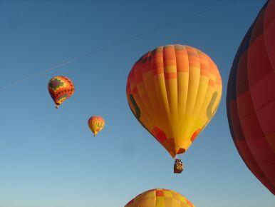 AZ - Hot Air balloning at dawn